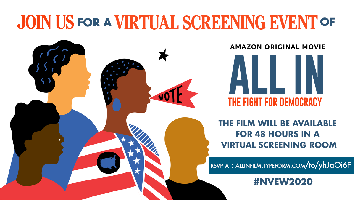 ALL IN The Fight for Democracy Film Screening #NVEW2020