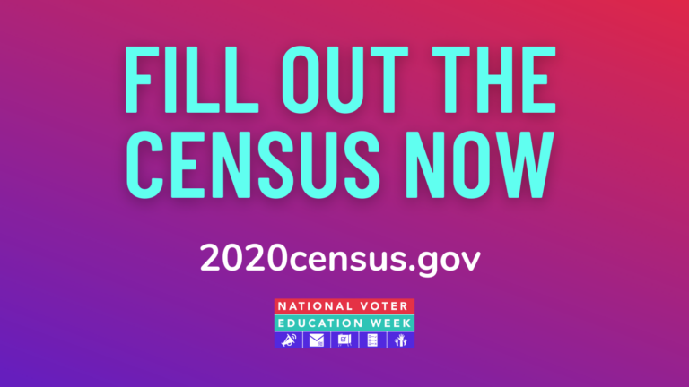 Fill out the census now #NVEW2020 #WeReady